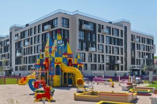 купить квартиру в доме на улице Нижне-Каменская Санкт-Петербург